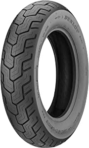 Dunlop D404 Rear Motorcycle Tire 170/80-15 (77H) Black Wall