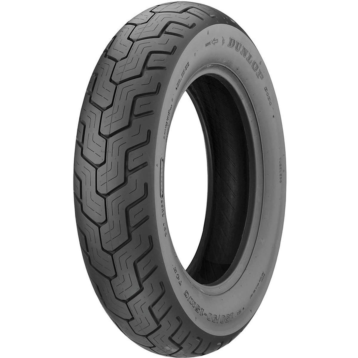Dunlop D404 Rear Motorcycle Tire 150/80B-16 (71H) Black Wall