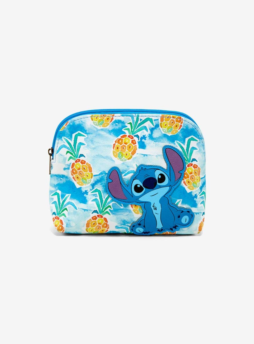 Loungefly Disney Lilo & Stitch Pineapples Makeup Bag