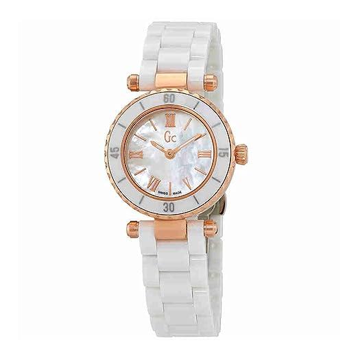 8d1dc8bbd5bd Guess Reloj Análogo clásico para Mujer de Cuarzo con Correa en Acero  Inoxidable X70011L1S  Amazon.es  Relojes