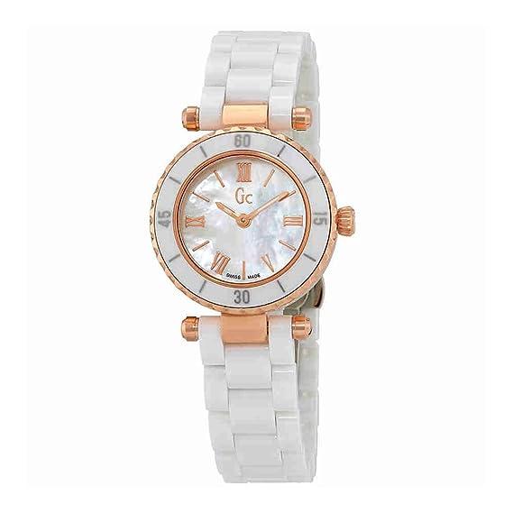 Guess X70011L1S - Reloj de pulsera para mujer, color blanco/plata: Amazon.es: Relojes