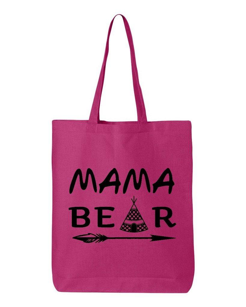 品質一番の shop4ever Mama Bear Teepeeブラックコットントートバッグ母の日再利用可能なショッピングバッグ6 oz oz Eco 12 Bear B06XX2JLV4 oz ピンク S4E_1215_MamaBearTPB_TB_QTBG_H Pink_3 B06XX2JLV4 ホットピンク, 秋山村:153c3f49 --- mcrisartesanato.com.br