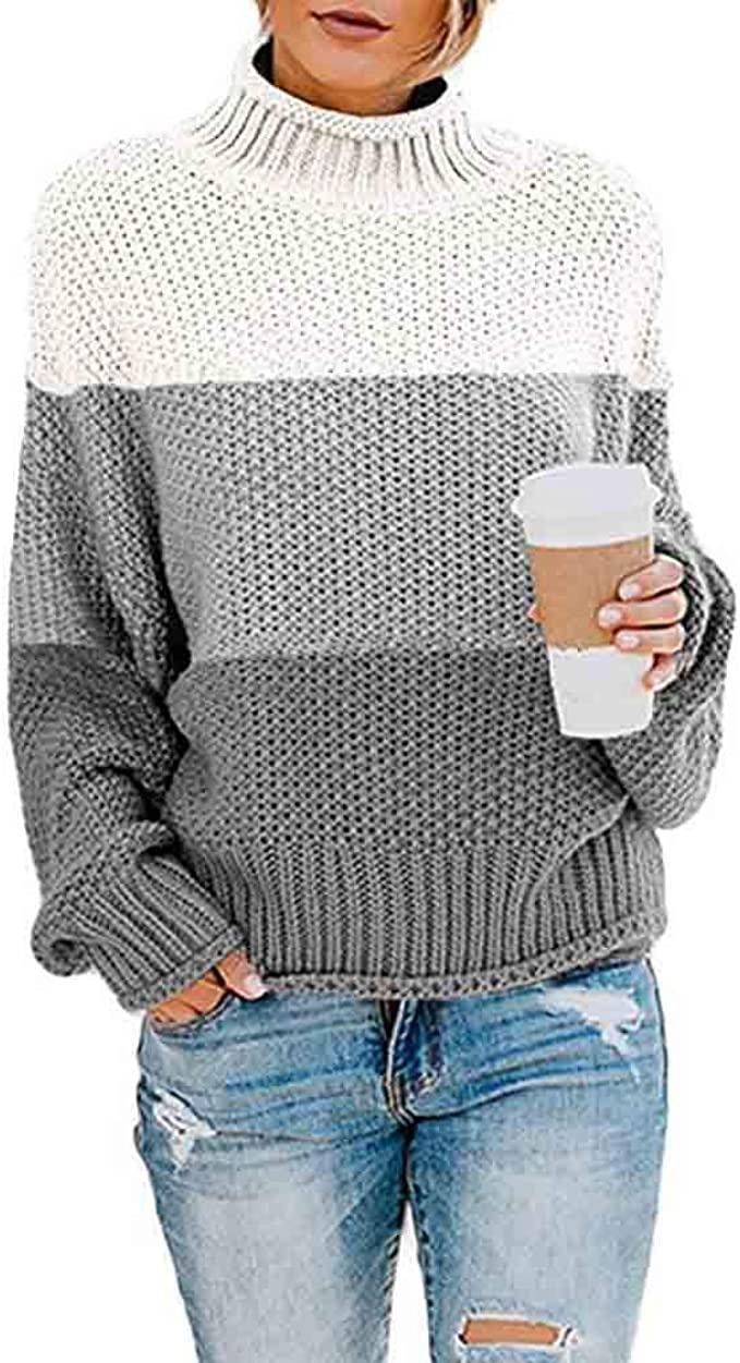 Womens Ladies Plus Size Cowl Neck Cable Knitted Pocket Tunic Dress Jumper 8-18