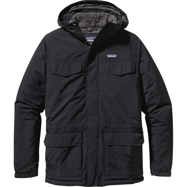 パタゴニア アウター ジャケット&ブルゾン Patagonia Isthmus Parka Black 1p7 [並行輸入品] B075JPGGZD