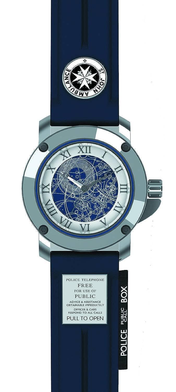 Dr Who dr194 Armbanduhr Herren - Leder - Blau