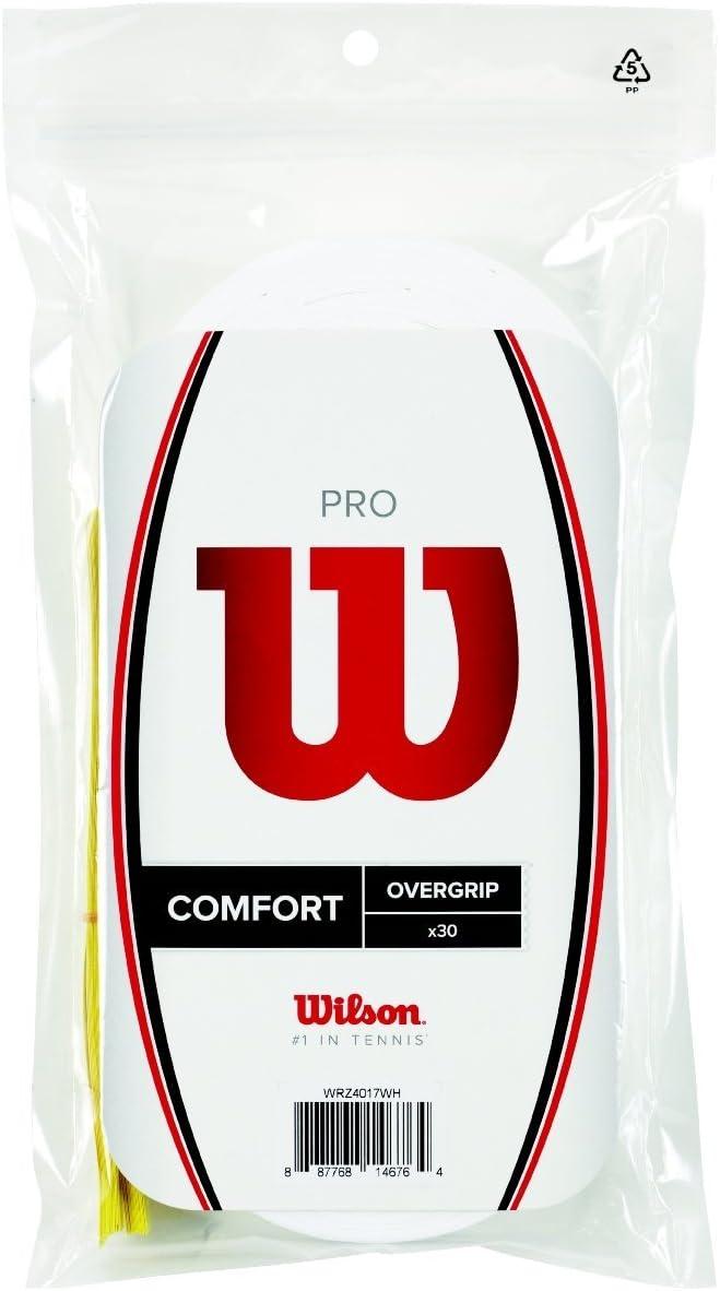Wilson Pro Tennis Squash Badminton Racquet Racket Overgrip 30 Pack