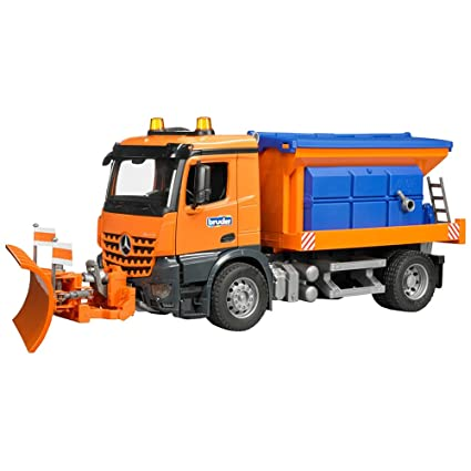 Bruder Mb Arocs Snow Plow Truck Play Vehicles Amazon Canada