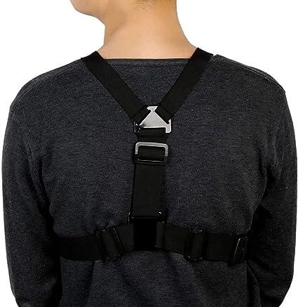 Andoer Einstellbare Brustgurt Halterung Elastische Kamera