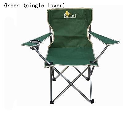 Jack Mall Single Layer Oxford Panois Fauteuil Chaise pliante à l'extérieur Chaise de pêche portable Chaise de plage