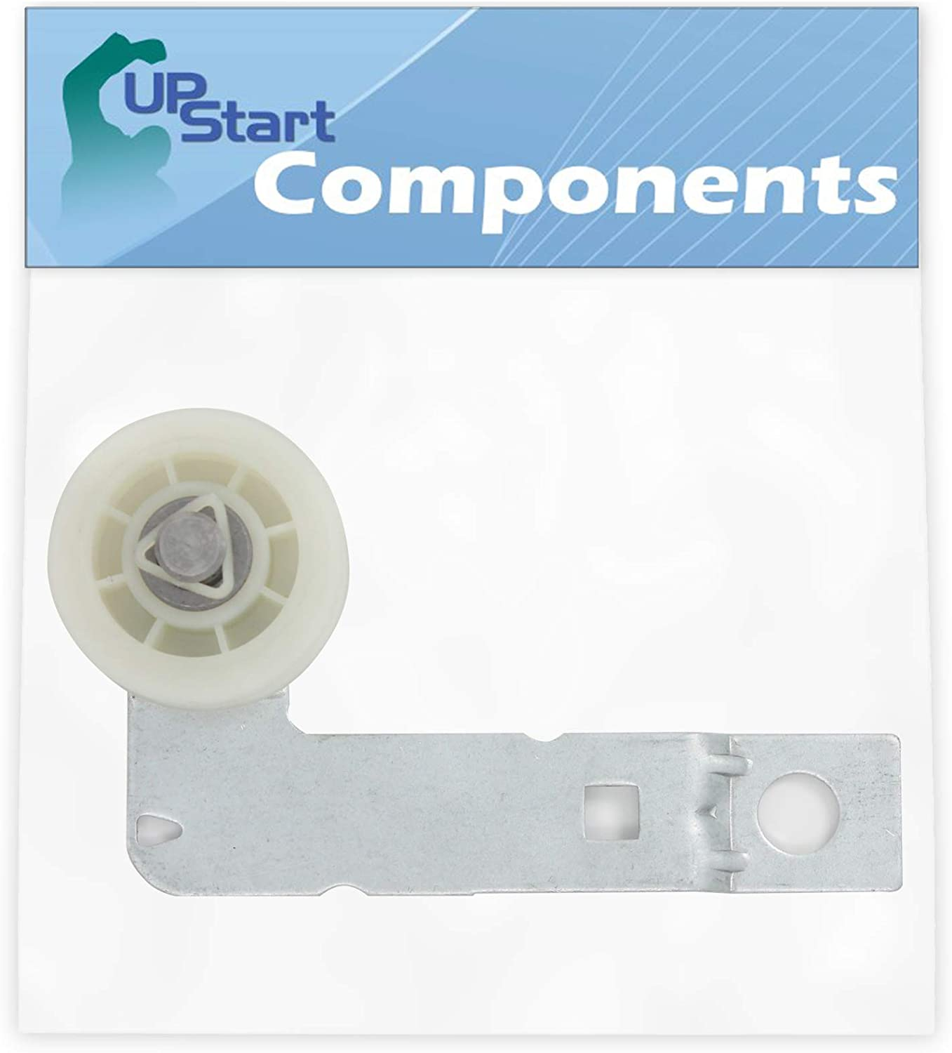W10837240 Dryer Idler Pulley Replacement for Whirlpool WED8500DC0 Dryer - Compatible with W10547290 3388674 Pulley Assembly - UpStart Components Brand