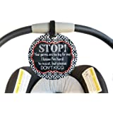 No Kissing Baby Safety sign, newborn, baby car seat tag, baby shower gift, stroller tag, baby Preemie no touching car seat sign