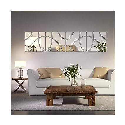 Fashion Geometric Art 3D Wall Stickers DIY Adesivo De Parede Home Decoration Living Room Dining
