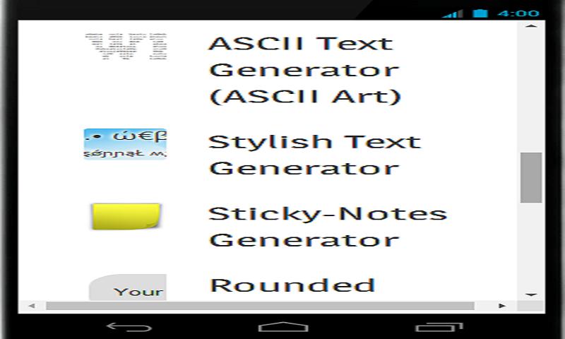 Schrift generator ascii Zalgo Text