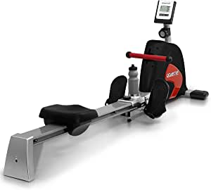 Powertrain Magnetic Flywheel Rowing Machine Home Gym Exercise Fitness Rower BLK