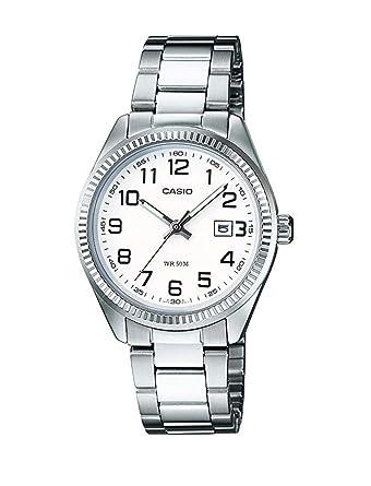 Amazon.com: Casio Women s reloj analógico de cuarzo con ...