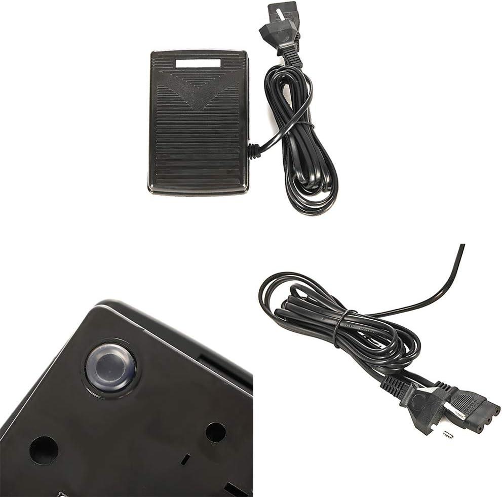 Pedale di controllo pedale macchina da cucire accessori macchina da cucire macchina da cucire pedale di controllo con cavo di alimentazione macchine da cucire