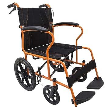 Wheelchair Silla De Ruedas Plegable Tubo De Acero Operado A ...