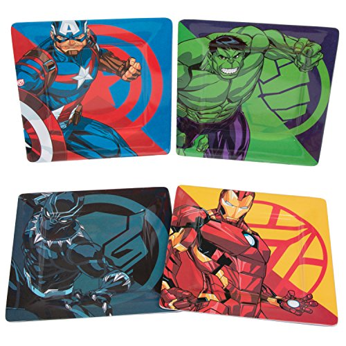 Marvel Avengers Plate Set Dishwasher product image