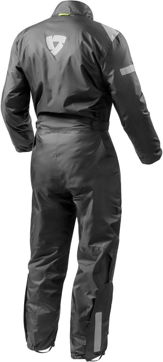 Gr/ö/ße 3XL Revit Einteilige Textilkombi Pacific 2 H2O Farbe schwarz
