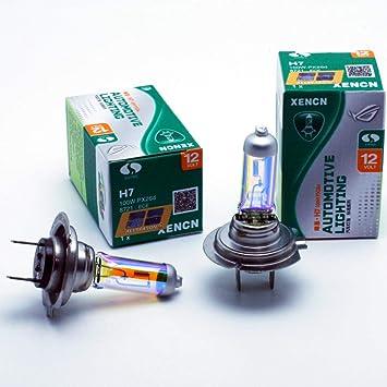 Ledpremium 2 X Halogen Leuchtmittel Xencn H7 100 W Golden Eyes Unglaublich Gelb Off Road Auto
