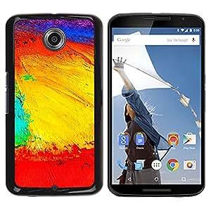 Be Good Phone Accessory // Dura Cáscara cubierta Protectora Caso Carcasa Funda de Protección para Motorola NEXUS 6 / X / Moto X Pro // Landscape Geography Structure Colors Artwork