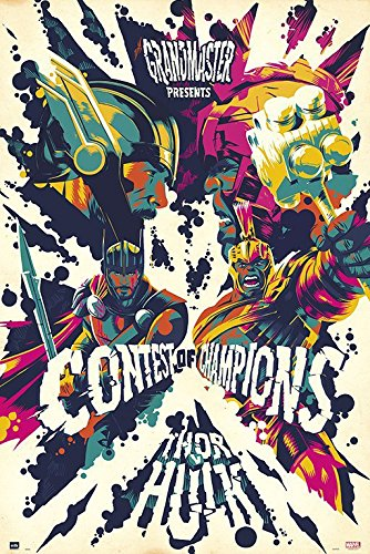 Thor: Ragnarok - Marvel Movie Poster / Print Contest Of Champions By Stop Online