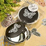 Cheap Elegant Reflections Collection Butterfly Mirror Compact Favors (10)
