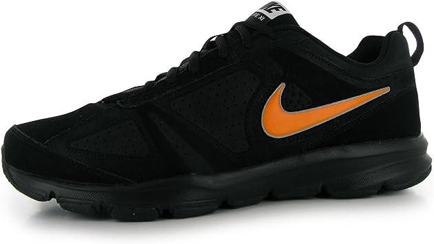 Nike T Lite 11 Nobuck Zapatillas de Entrenamiento para Hombre (Negro/Naranja Fitness Zapatillas Zapatillas, Negro/Naranja: Amazon.es: Deportes y aire libre