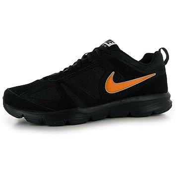 Nike T Lite 11 Nubuk Training Schuhe Herren Schwarz/Orange Fitness ...