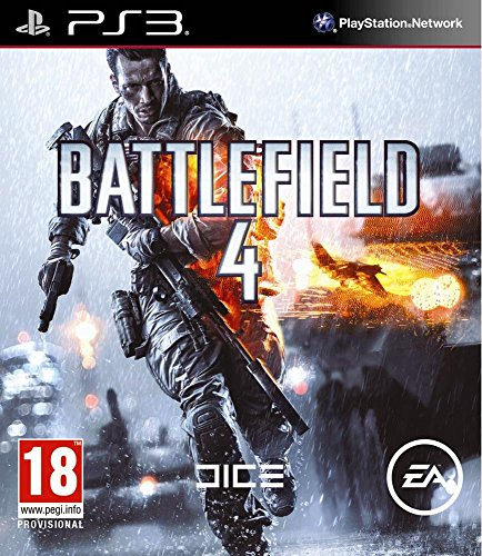 Battlefield 4 Ps3 (Ops Black Care Ps3 Package 2)