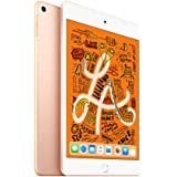 【2019新款】Apple iPad mini 2019新款平板电脑 7.9英寸(64G WiFi版/A12芯片/Retina显示屏/MUQY2CH/A) 金色+Chirslain清洁套装