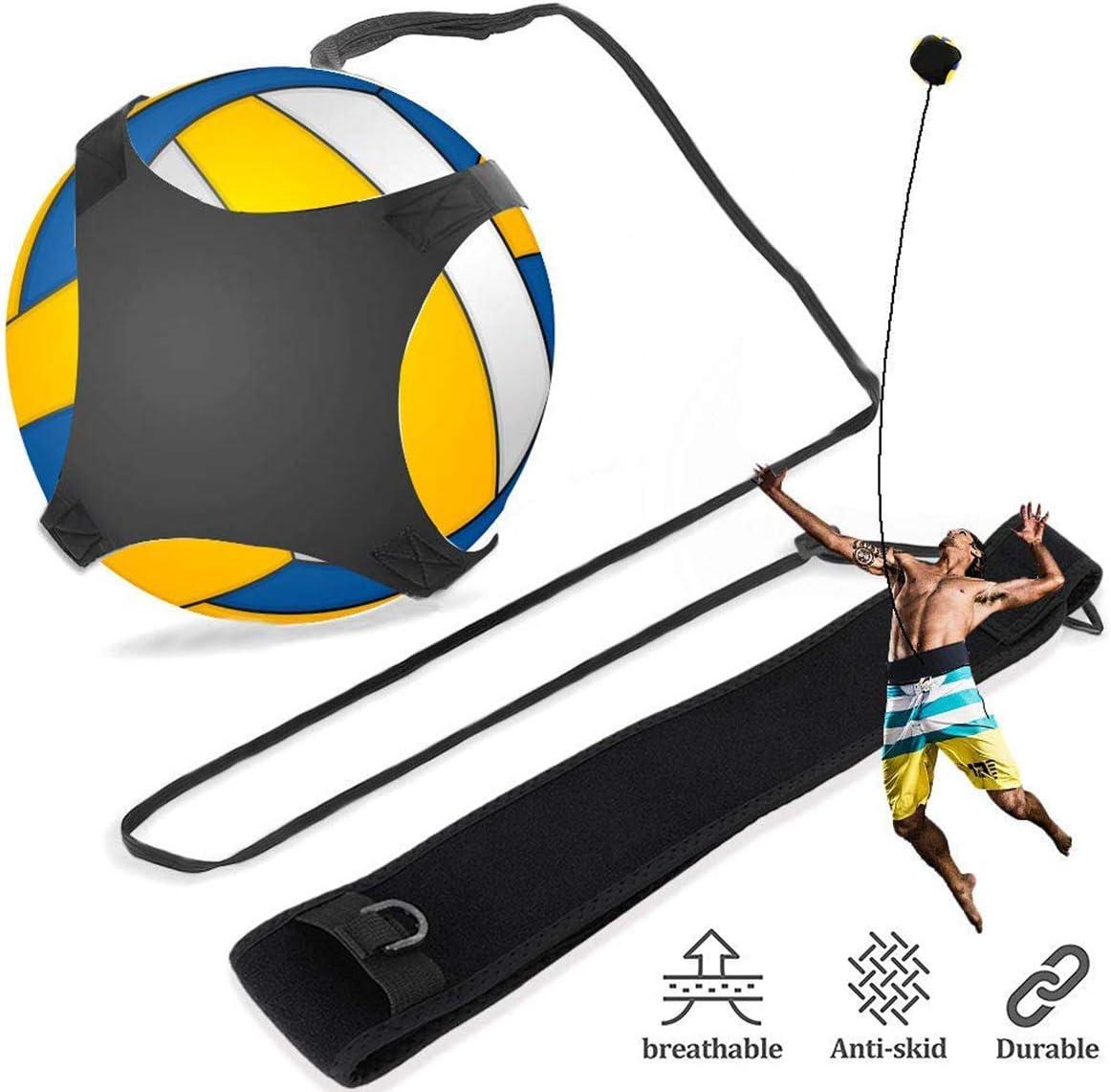 iFCOW Entrenador de f/útbol para entrenamiento de f/útbol con cintur/ón ajustable uso en solitario manos libres