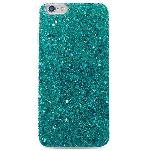 iPhone 8/7 Plus Bling Case Sparkle Ombre Sequins Polka Dot Air Prism Glitter Translucent Soft TPU Flexible Slim 3D Design Case Cover for Apple iPhone 8 Plus/7 Plus(iPhone 8 Plus/7 - Color Ombre Case Iphone 6