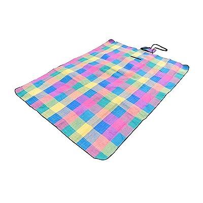 Daeou Taille: 190x150cm Couverture de pique-nique imperméable pique-nique en plein air mat plage pique-nique couverture pliante couverture de camping en plein air
