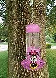 17 Inch Disney Minnie Mouse Pink Hanging Bird Feeder