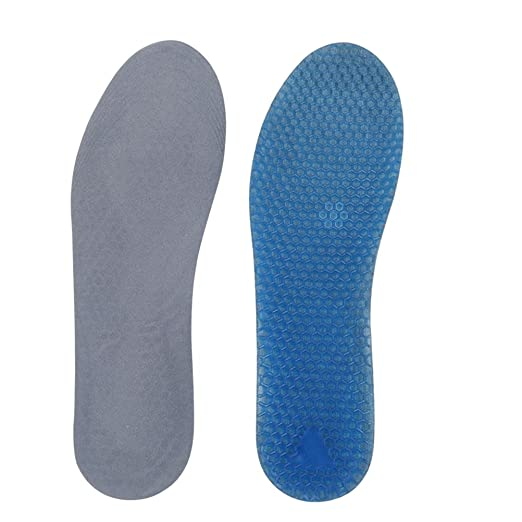 1 Pair Silicone Gel Flip-flop Sandal Inserts Cushion Foot Care Insoles PKJ