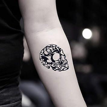 Tatuaje Temporal de Calavera 3D (2 Piezas) - www.ohmytat.com ...