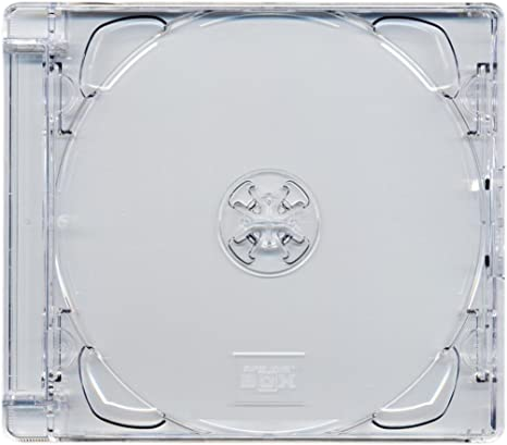 Four Square Media 1 x CD DVD Super caja de joya 10,4 mm casos ...