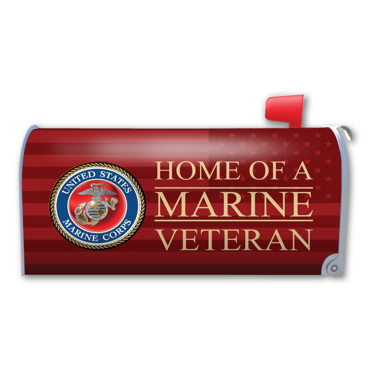 Home of a Marine Veteran Mailbox Cover Magnet (Magnet)