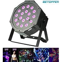 BETOPPER Luces dmx512 Luz Barra Ultravioleta DJ Luces