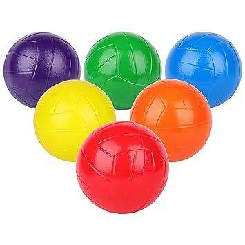BORPEIN Pro Pelota de Voleibol de Espuma, 7 Pulgadas, para ...