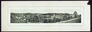 "c1901 Panoramic view of Eureka Springs, Arkansas 24"" Vintage Panorama photo"