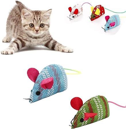 PPING Cosas para Gatos Catnip Gato Ratones de Juguete Juguetes de molienda de Dientes de Gato Juguete de Limpieza de Dientes de Gato Gato Juguetes Rat: Amazon.es: Hogar