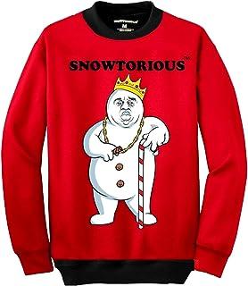 Amazoncom Snowtorious Ugly Christmas Sweater Funny Christmas