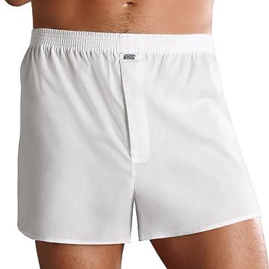 Geschicktes Design perfekte Qualität später Herren Boxershorts – Shorts mit Eingriff – Unterwäsche aus 100% Baumwolle –  Weite Boxer Shorts mit Komfort-Bund – Wäsche Kochfest bis 60 Grad – Farbe  ...