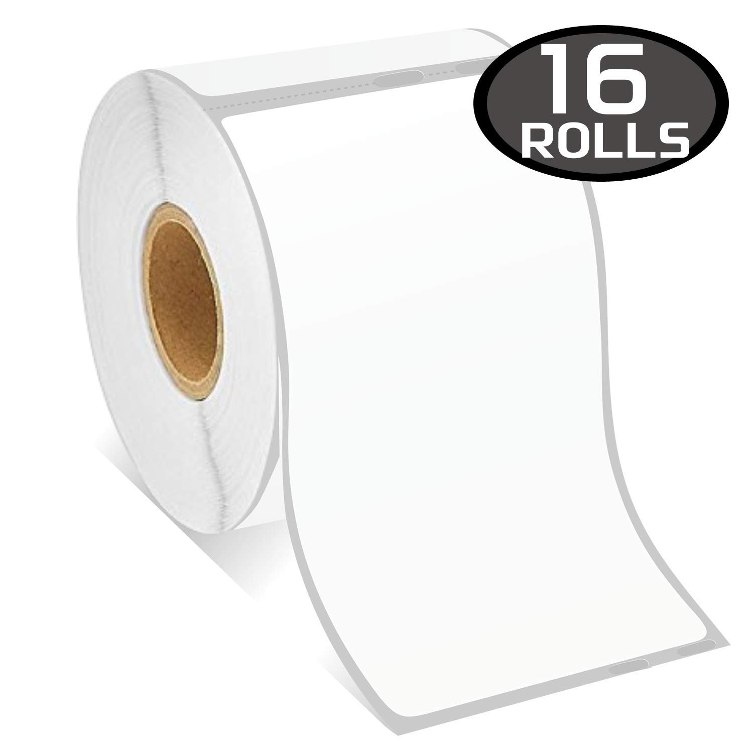 16 Rolls DYMO 30323 Compatible 2-1/8'' x 4''(54mm x 101mm) Shipping Labels,Compatible with Dymo 450, 450 Turbo, 4XL and Many More by BETCKEY