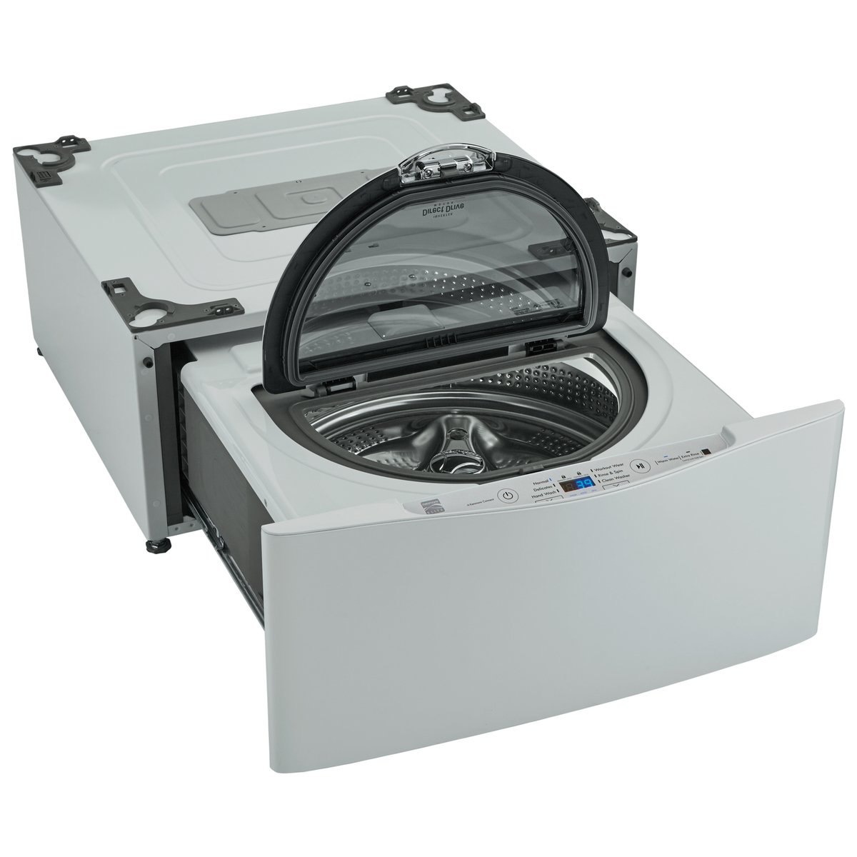 Kenmore Elite 51992 29'' Wide Pedestal Washer in White, includes delivery and hookup