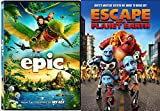 Escape From Planet Earth & Epic Cartoons from the creators of Ice Age DVD Animated Set