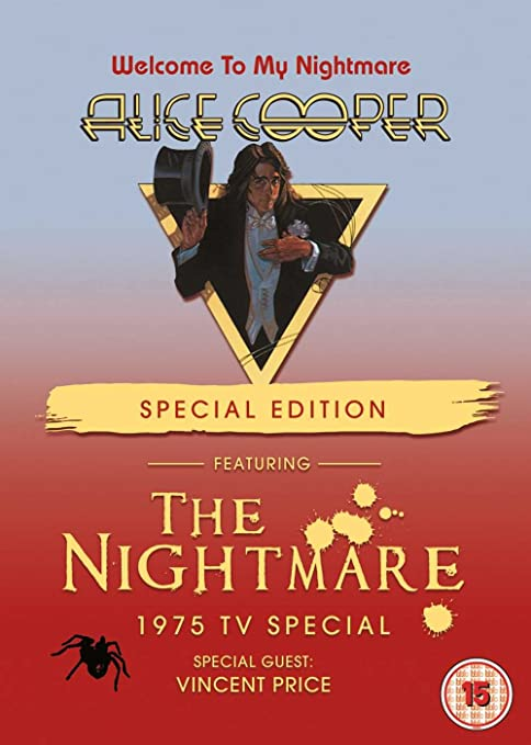 13029a7e190a3 Amazon.com: Welcome To My Nightmare Special Edition DVD: Alice ...