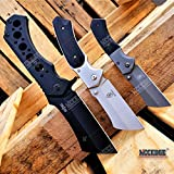 BUCKSHOT KNIVES HUNTERS 3PC CLEAVER COMBO SET Assisted Open Miniature 6.5